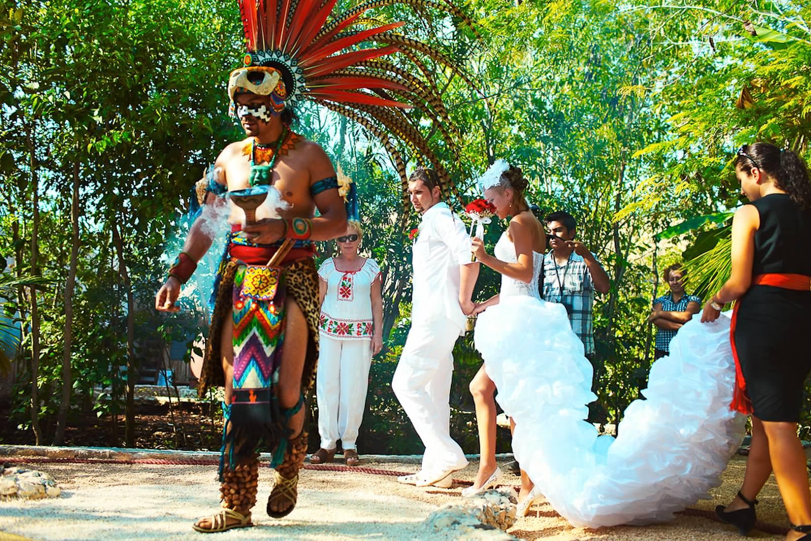 поздравления к свадьбе индеец период